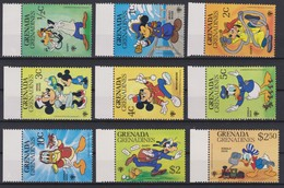 2260  Walt Disney   GRENADA  GRENADINES  (  Emblem Of The Year Of The CHILD ) - Disney