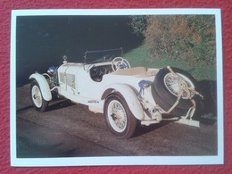 POSTAL POST CARD CARTE POSTALE COCHE DE LUJO CAR CARS COCHES AUTO AUTOMÓVIL MERCEDES BENZ 38/250SS 1929 VER FOTO/S Y DES - Other