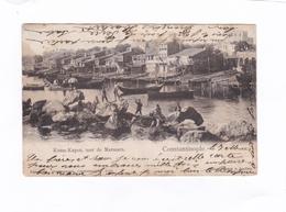 (CPA : 14 X 9)   -   Koum-Kapou,  Mer  De  Marmara.  -  Constantinople - Turquie