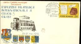 Romania, Cover, International Philatelic Exhibition Of Te Five Towns, Timisoara 1980 - Maximum Cards & Covers