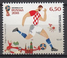 CROATIA 2018  Football. FIFA World Cup In Russia MNH - 2018 – Russia