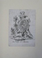 Ex-libris Armorié Français XVIIIème - De Millet De Chevers - Ex Libris