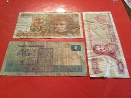 LOT DE 3 Billets Voir Le Scan - Lots & Kiloware - Banknotes