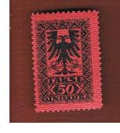 ALBANIA  - SG D144 SEGNATASSE  -  1922 POSTAGE DUE 40  -   MINT** - Albania