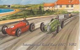 JER-100 TARJETA DE JERSEY DE ROAD RACE (COCHES-CAR) (37 JERB) - [ 7] Jersey Y Guernsey