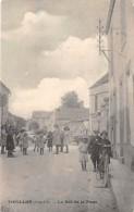 21 - COTE D'OR / Touillon - 2110363 - La Rue De La Poste - Beau Cliché Animé - Défaut - France