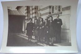 44 NANTES   OCTOBRE  1944    BOULEVARD  EUGENE   ORIEUX   PERSONNEL DU  BUREAU DE  LA  D. D. R. G . - Lugares