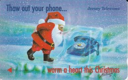 JER88 TARJETA DE JERSEY DE NAVIDAD-CHRISTMAS  (35JERA) - [ 7] Jersey Y Guernsey