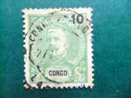 Congo Portugais Congo Portuges 1898 - 1901 CARLOS 1 Yvert 16 FU - Portugiesisch-Kongo