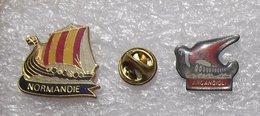 2 PIN'S DRAKKAR          DDDD    001 - Barcos