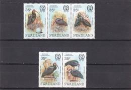 Swaziland Nº 447 Al 451 - Swaziland (1968-...)