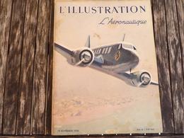 L'Illustration L'Aéronautique 19 Novembre 1938 - 1900 - 1949