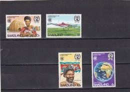 Swaziland Nº 416 Al 419 - Swaziland (1968-...)