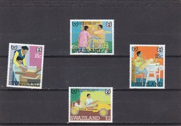 Swaziland Nº 385 Al 388 - Swaziland (1968-...)