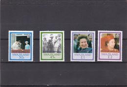 Swaziland Nº 533 Al 536 - Swaziland (1968-...)