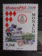 MONACO 2009 Y&T N° 2670 ** - MONACO PHIL 2009 - Monaco
