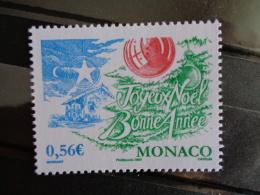MONACO 2009 Y&T N° 2701 ** - JOYEUX NOEL, BONNE ANNEE - Unused Stamps