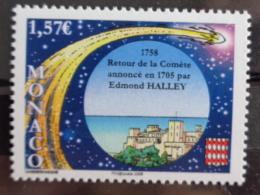 MONACO 2008 Y&T  N° 2605 ** -  RETOUR DE LA COMETE ANNONCE EN 1705 PAR E. GALLEY - Monaco
