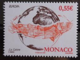 MONACO 2008 Y&T  N° 2632 & 2633 ** -  EUROPA , LA LETTRE - Neufs