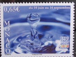 MONACO 2008 Y&T  N° 2623 ** -  EXPO ZARA GOZA 2008 - Ongebruikt