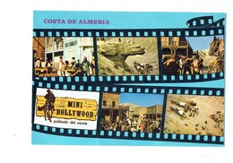 Cpm - COSTA DE ALMERIA - Mini-Hollywood TABERNAS Ranch Cheval Chevaux SHIPS CHANDLER FILM ROULOTTE CADAVRE - Pferde