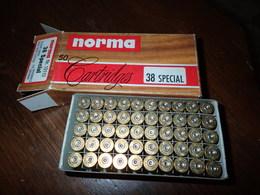 Boite De 50 Douille Norma 38 Special - Armi Da Collezione
