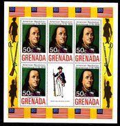 GRENADE  BF 29 * *   Bicentenaire De L Independance Des Usa Uniforme Franklin - Unabhängigkeit USA