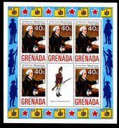 GRENADE  BF 28 * *   Bicentenaire De L Independance Des Usa Uniforme John Hancock - Unabhängigkeit USA