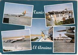AÉROGARE  El Aouina  Tunis - Aeródromos