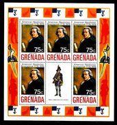 GRENADE  BF 30 * *   Bicentenaire De L Independance Des Usa Uniforme Adams - Unabhängigkeit USA