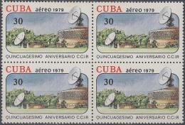 1979.81 CUBA 1979 Ed.2615. 50 ANIV COMITE RADIO COMUNICACIONES MNH. BLOCK 4. - Cuba