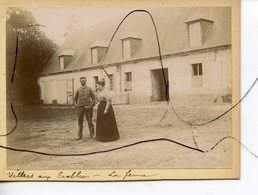 PHOTO ANIMÉE. SOMME . D80. Villers-aux-Érables . La Ferme . - Lieux