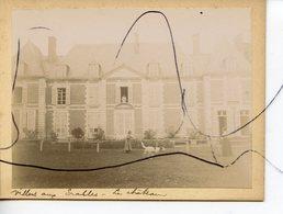 PHOTO ANIMÉE. SOMME . D80. Villers-aux-Érables . Le Château - Lieux