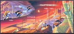 Australia 2000 Space Exploration, Hologram M/Sheet MNH (M-97) - Space