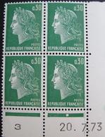 Lot R1631/2089 - MARIANNE DE CHEFFER - BLOC NEUF** N°1611b BdF Daté - 1970-1979