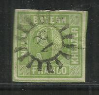 """Altdeutschland Bayern 5  """"Freimarke 9 Kr. Im Geschlossenem Kreis Mit Stempel 18, """" Gestempelt Mi.:20,00 - Bavière"""