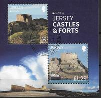 2017 Jersey MI. Bl 152 Used Europa: Burgen Und Schlösser. - 2017