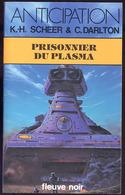"""{24740} K.-H Scheer & C. Darlton ; Anticipation, N° 1234 EO (Fr) 1983.   TBE.  """" En Baisse """" - Fleuve Noir"""