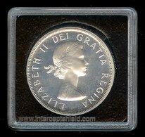CANADA 1955 Dollar ICCS65 GEM Prooflike Blast White & Clean! - Canada