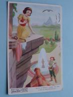 SNOW WHITE And The SEVEN DWARFS / Walt Disney Film - Anno 1935 / Valentine's 4174 ( Voir Photo Svp / Zie Foto Aub ) ! - Contes, Fables & Légendes