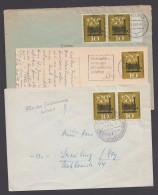 Mi-Nr. 345, EF, MeF Mit 2 Werten Und FDC Mit Sst. - Briefe U. Dokumente