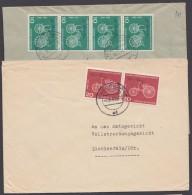 Mi-Nr. 363/4, MeF Mit 2 Bzw. 4 Werten Auf 2 Sauberen Bedarfsbelegen - Briefe U. Dokumente