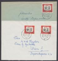 Mi-Nr. 382, EF Bzw. MeF Auf Inlands- Bzw. Auslandsbrief - Briefe U. Dokumente