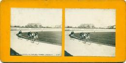 Photo Stéréoscopique Paris Vélodrome Du Parc Des Princes Vers 1900 - Stereoscopio