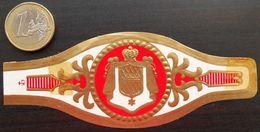 F06 Lot Bagues De Cigares  Couronne Armoiries - Cigar Bands