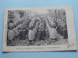 "A.D.B. - Afdeeling "" ONZE KINDEREN "" - KLOMPENDANS (1) Anno 1907 > Malines ( G. Hermans / Zie Foto Aub ) ! - Syndicats"