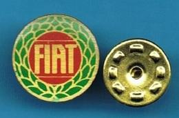 PIN'S //  ** LOGO / FIAT ** - Fiat