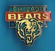 PIN'S //  ** FOOT AMÉRICAIN / CHICAGO BEARS ** - Badges