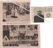 TEMSCHE...1932...1935...GOUDEN PRIESTERJUBILEUM VOOR Z.E.W. DEKEN ROMBOUT - Vecchi Documenti