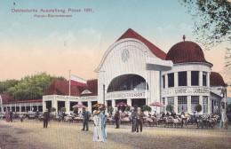 Ostdeutsche Ausstellung Posen 1911 Haupt-Bierrestaurant - Pologne